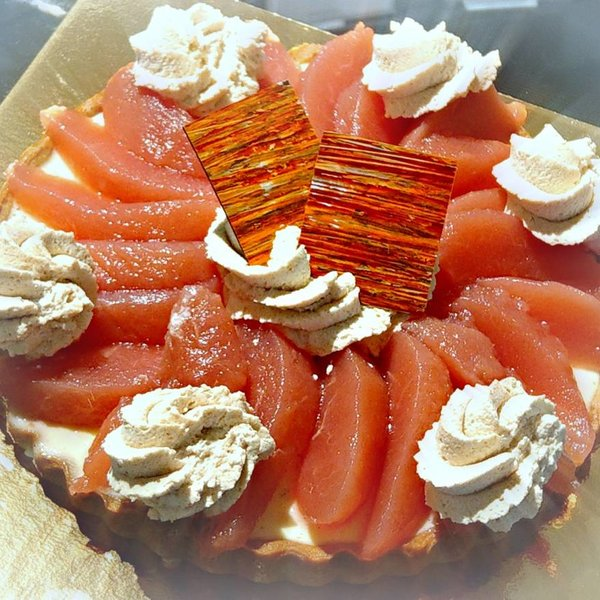 Patisserie & Chocolaterie Boom Kerst: Desserttaart Stoofpeertjes