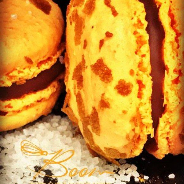 Patisserie & Chocolaterie Boom BESTELLEN: MACARON SALTED CARAMEL