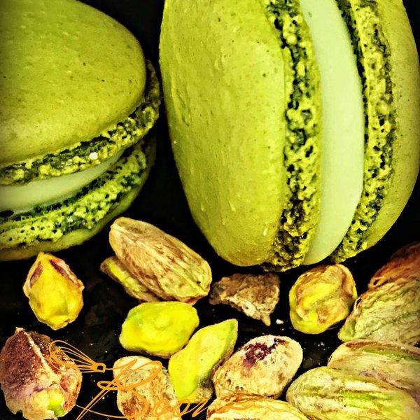 Patisserie & Chocolaterie Boom BESTELLEN: MACARON PISTACHE