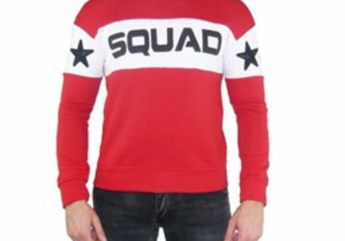UNIPLAY UNIPLAY SQUAD SWEATER - ROOD