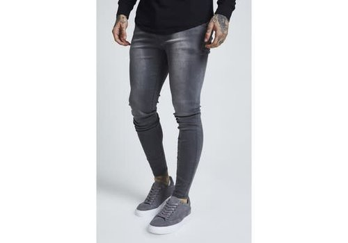 SIKSILK SIKSILK SKINNY DENIMS - WASHED GREY (SS-13232)