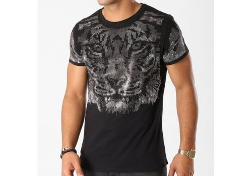 UNIPLAY UNIPLAY DIAMOND TIGER T-SHIRT - ZWART (ZS005)