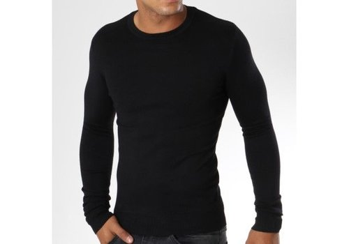 Y. TWO Y. TWO PULLOVER - ZWART (32082)
