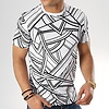 UNIPLAY UNIPLAY ABSTRACT T-SHIRT - WIT (UY334)