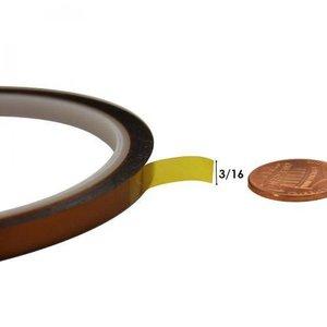 Kapton Hittebestendige Tape 6 mm x 30 Meter