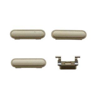 A-pple 6s Buttons Zilver
