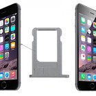 A-pple iPhone 6 Sim Tray Grijs