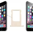 A-pple iPhone SE Sim Tray Goud