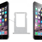 A-pple iPhone 5S Sim Tray Zilver