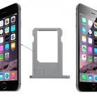 A-pple iPhone 5 simkaart houder - sim tray Zwart
