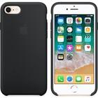 A-pple Apple lederen hoesje zwart voor Apple iPhone 7 Plus / 8 Plus