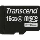 Transcend 16 GB micro SDHC class 4 met adapter