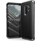 X-Doria Samsung Galaxy S9+ Defense Lux cover - zwart carbon fiber