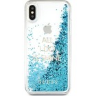 GUESS hard case glitter shine - blauw - for iPhone X