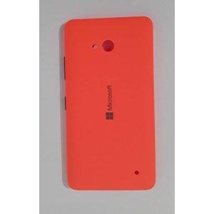 Nokia Lumia 640 Batterij Cover Achterkant Oranje