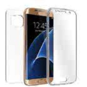 Huismerk Samsung Galaxy S6 G920F TPU hoesje voor + achter