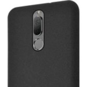 Azuri flexible cover with sand texture - zwart - Huawei Mate 10 Lite