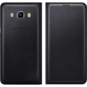 Samsung  flip wallet - zwart - voor Samsung Galaxy J5 2016