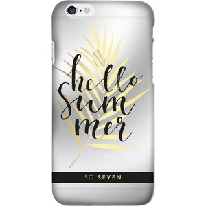 So Seven summer hello back case - transparant - voor Apple iPhone 7;Apple iPhone 8
