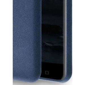 Azuri voor Nokia 6 -flexible cover with sand texture - blauw -  Opruiming