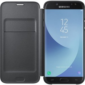 Samsung flip wallet - zwart - voor Samsung Galaxy J7 2017