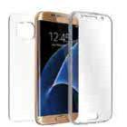 Huismerk Samsung Galaxy S7  G930F TPU hoesje voor + achter