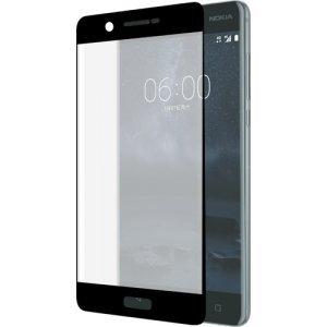 Azuri Curved Tempered Glass RINOX ARMOR - zwart - voor Nokia 5