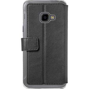 Azuri walletcase met magnetische sluiting - zwart - voor Samsung Xcover4