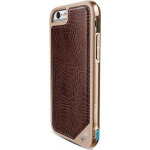 X-Doria Defense Lux cover - bruin croco- voor iPhone 6/6S