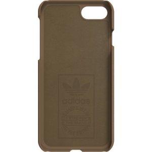 Adidas Originals suede moulded case - bruin - voor iPhone 7/8