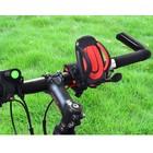 Universele smartphone fietshouder - zwart rood