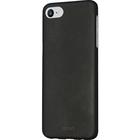 Azuri metallic cover met soft touch coating - zwart - voor iPhone 7/8