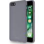 Azuri flexible cover with sand texture - grijs - voor iPhone 7/8