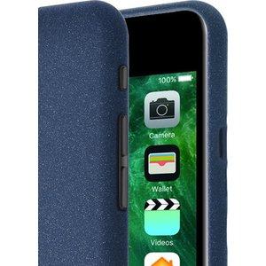 Azuri flexible cover met zand textuur - blauw - iPhone 7 Plus en iPhone 8 Plus