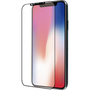 Azuri screen protector Curved Tempered Glass - black colorframe - voor iPhone X/Xs