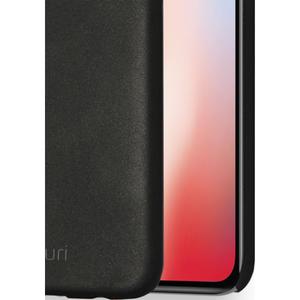 metallic cover met soft touch coating - zwart - voor iPhone X