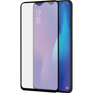 voor Huawei P30 Pro - Curved Tempered Glass RINOX ARMOR - zwart frame