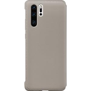 Huawei flip cover - Khaki - voor Huawei P30 Pro