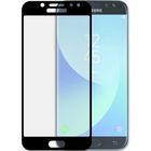 Azuri Tempered Glass flatt RINOX ARMOR met zwarte rand voor Samsung J7 2017
