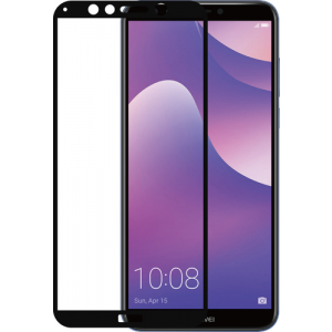 Tempered Glass flat RINOX ARMOR - transparent - Huawei Y7 (2018)
