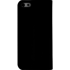 Azuri booklet ultra thin - zwart - voor Apple iPhone 5/5S/SE