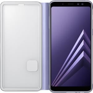 Samsung neon flip cover - violet - voor Samsung Galaxy A8 2018 (A530)