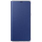 Samsung neon flip cover - blauw - voor Samsung Galaxy A8 2018 (A530)