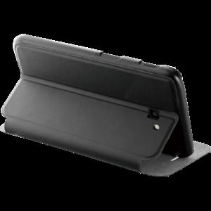 Azuri booklet ultra thin met stand functie - zwart - Samsung J4 Plus