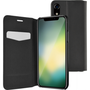 Azuri booklet ultra thin with stand function - zwart - voor Apple iPhone Xr