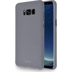 Azuri flexibele cover voor Samsung S8 met sand texture - grijs