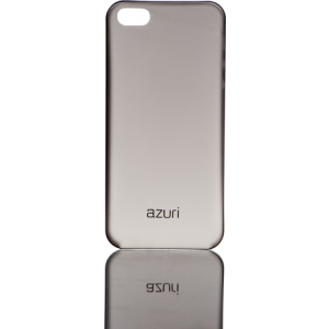 Azuri voor iPhone 5 - ultra thin cover - zwart + Tempered Glass