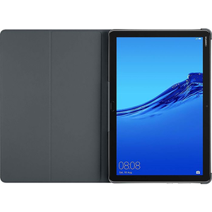Huawei voor  MediaPad M5 Lite 10 book cover - zwart