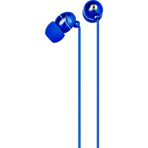 Azuri handenvrij stereo hoofdtelefoon - blauw - 3.5 mm - universeel