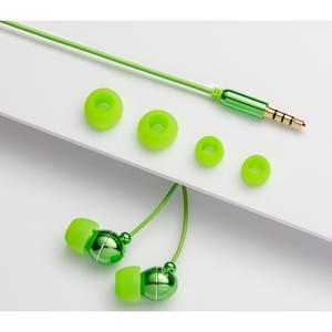 Azuri handenvrij stereo hoofdtelefoon - groen - 3.5 mm - universeel